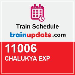 11006 CHALUKYA EXP Schedule